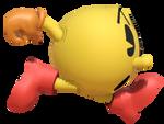 Classic Pac-man Running