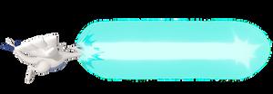 Lugia using Hyper Beam