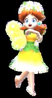 Fairy Daisy smiling