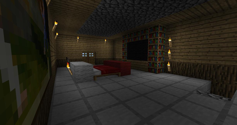 Minecraft Room By Brunobsb On DeviantArt