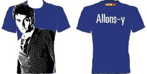 T-Shirt Design Comp Allons-y