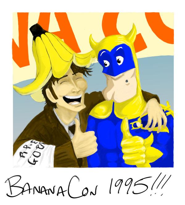 BananaCon by louisesaunders