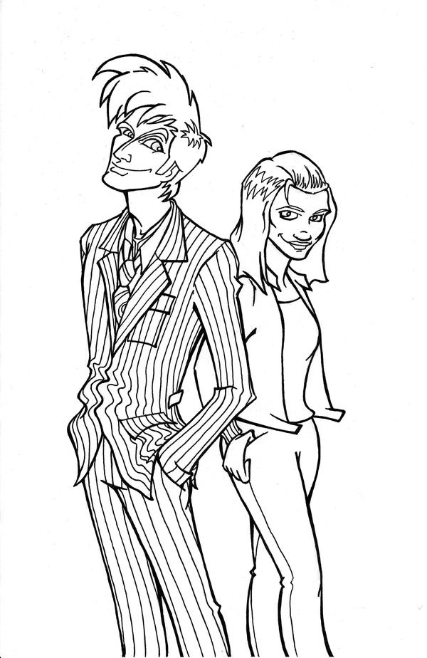 Doctor And Rose By Louisesaunders On DeviantArt