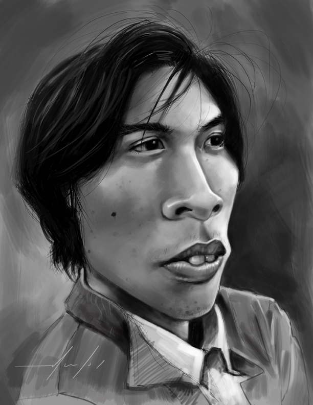 Peds Caricature by koinoi