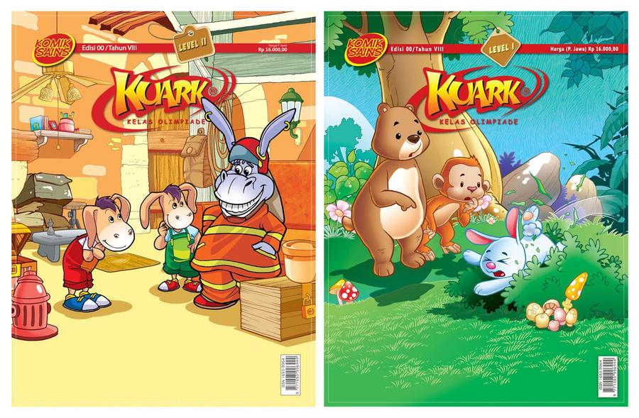 Kuark Comic Magazine by prie610