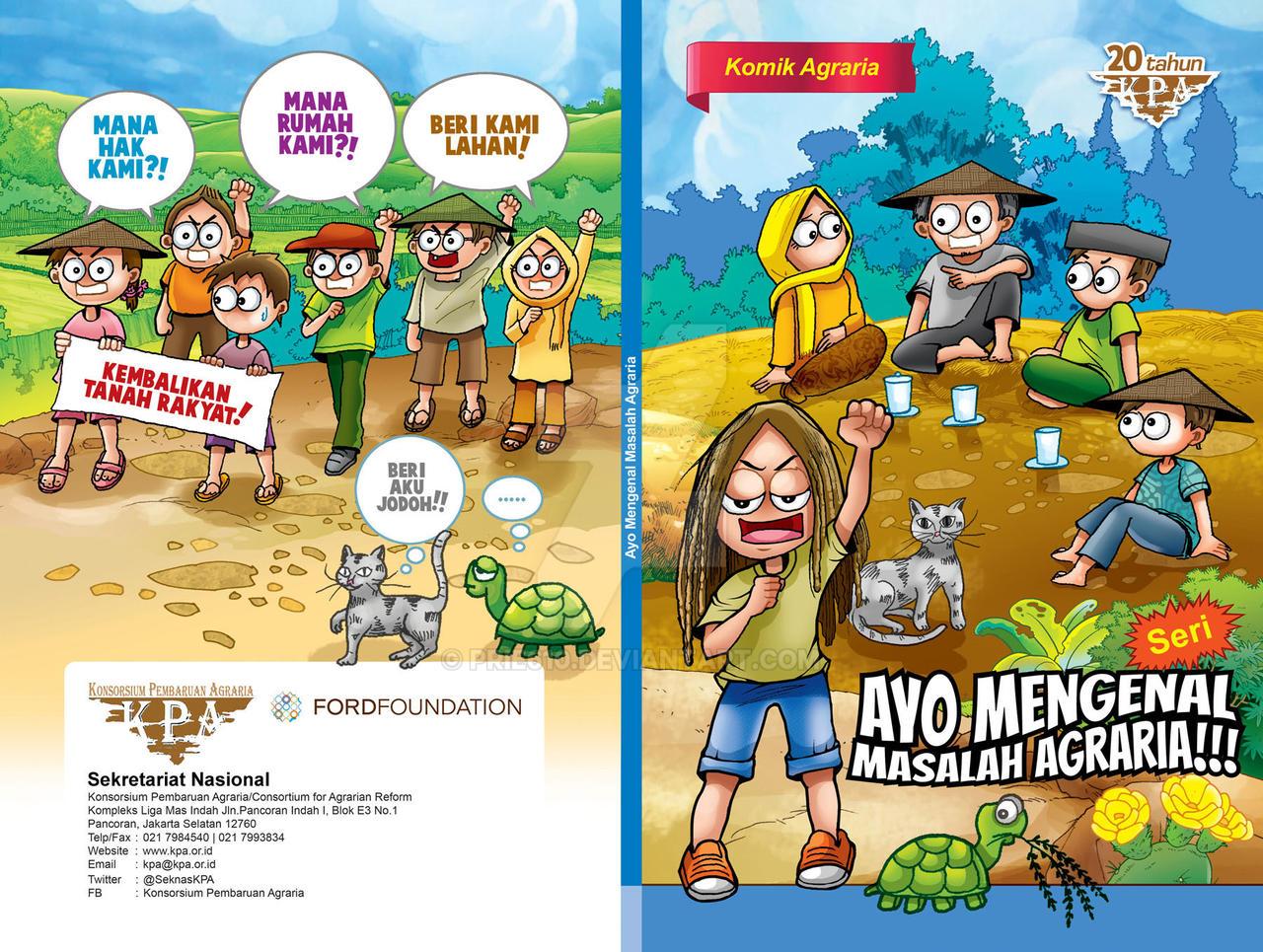 Cover Komik Agraria by prie610