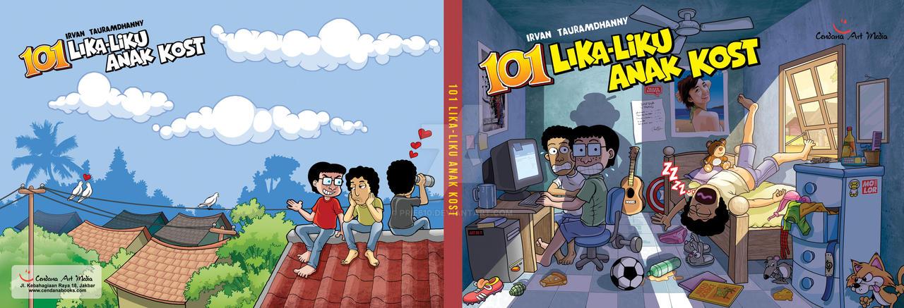 COVER 101 Lika-liku Anak Kost by prie610