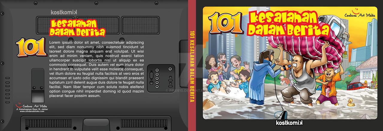 COVER 101 Kesalahan dibalik Berita by prie610