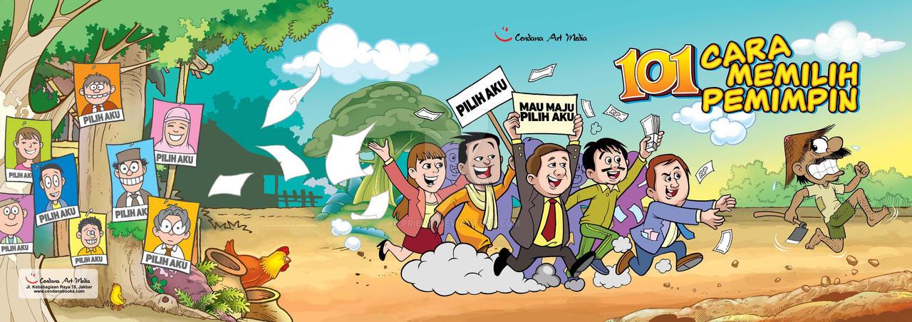 COVER 101 Cara Memilih Pemimpin by prie610