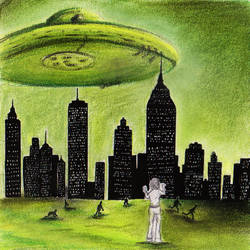 UFO's invasion