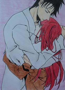 Okabe and Kurisu by itweetie