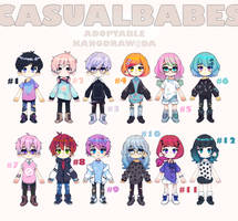 Adoptable: Casual Babes Batch 5 [CLOSED] by amepan