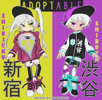 adopt: off species - SB $1 (closed) by amepan