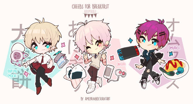 adopt: cheebs for breakfast japan [closed]