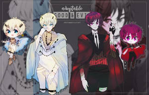 adopt: Good and Evil (closed) by amepan