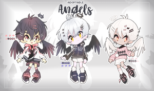 Cheebs Angels adopt (1/3 OPEN) by amepan