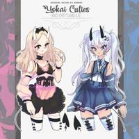 adopt: Yokai Cuties (open) by amepan