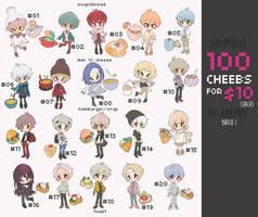 adopt challenge:100 cheebs $10 Batch 1 (3/20 OPEN) by amepan