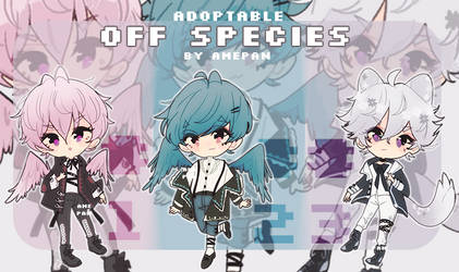 Cheebs Babes - Adopt Off Species [CLOSED] by amepan