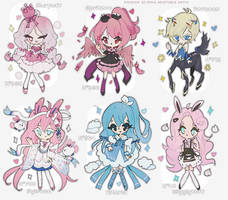 If Fairy Types where Fairies auction [closed] by amepan
