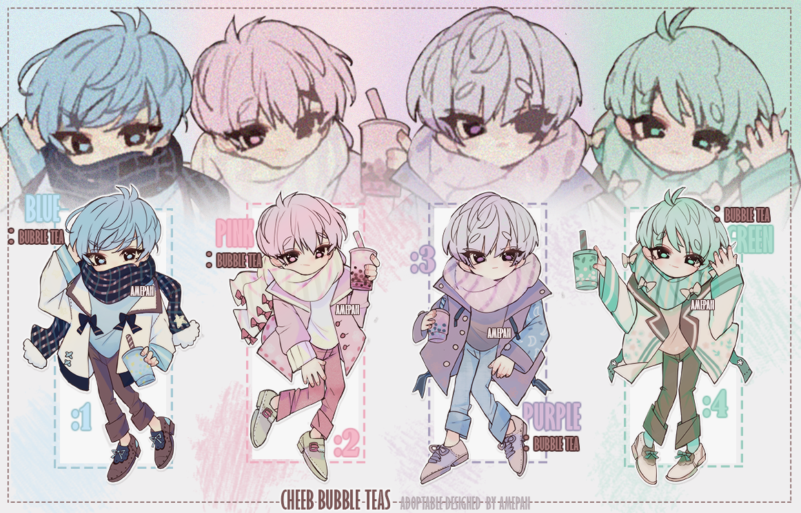 Adopt - Cheeb Bubble Tea Babes [2 OPEN] *REDUCED by amepan