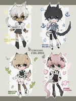Cheebs and Colors [CLOSED] by amepan