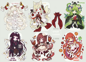 Yummy Flavors Themed - Adoptable [2 OPEN]