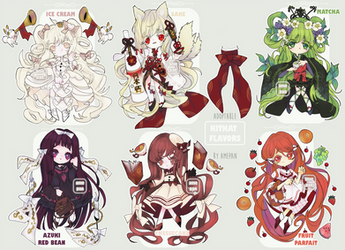 Yummy Flavors Themed - Adoptable [1 OPEN]