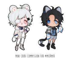 Mini Chibi Commission Batch 3