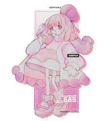 Pokemon Gijinka: Slurpuff 685 adopt [OTA /CLOSED]