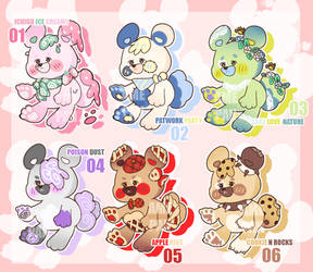 Bear Yummies Mascots [ota/open]