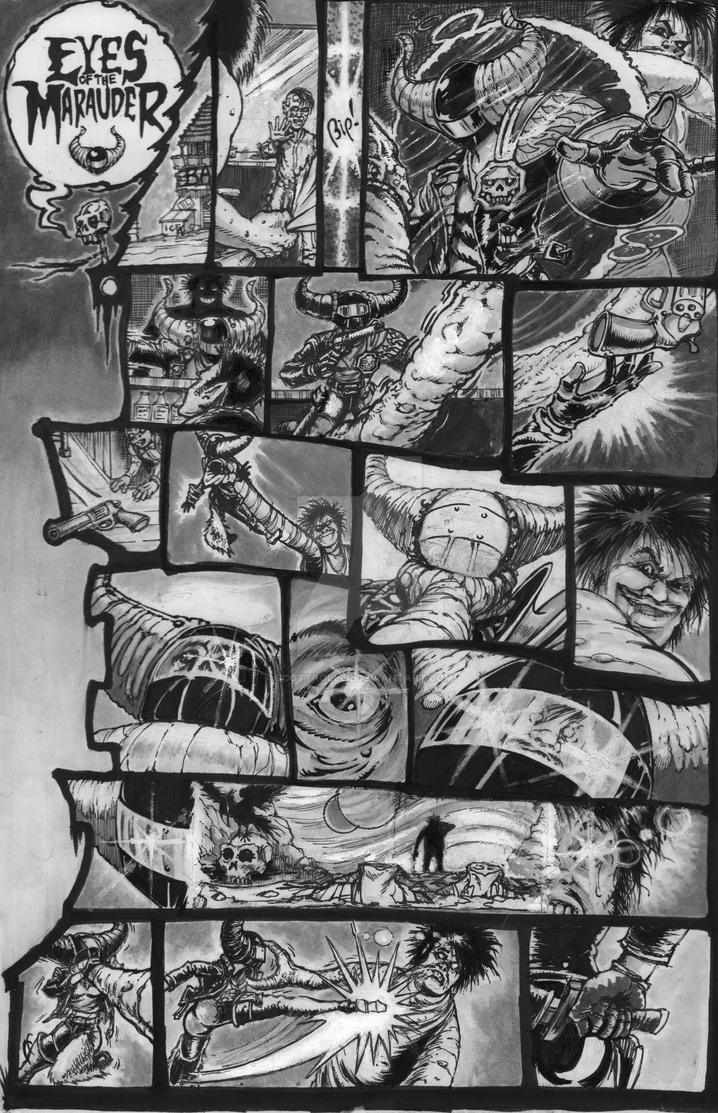 Vision Quest 7 - Eyes of the Marauder page by ScottRoller