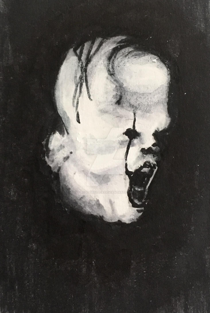 Pennywise sketch by ScottRoller