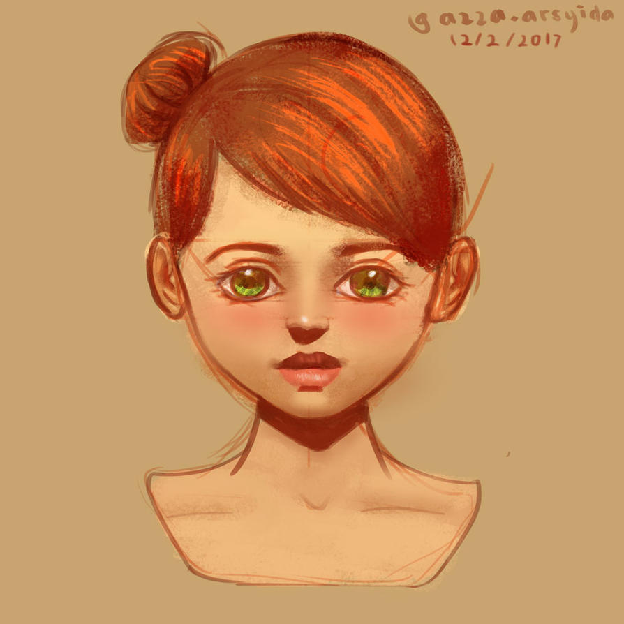 Messy Sketch by arsyiza