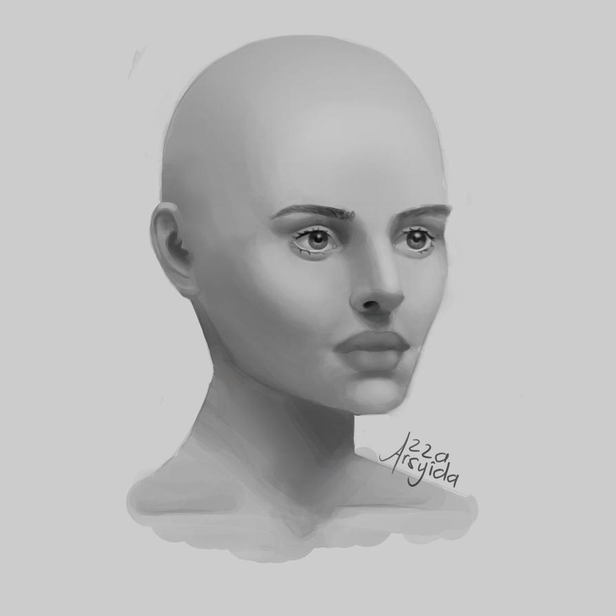 3/4 Portrait by arsyiza