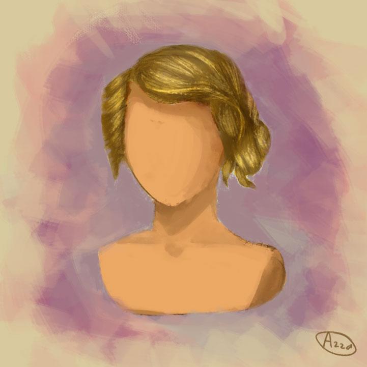 Blonde by arsyiza