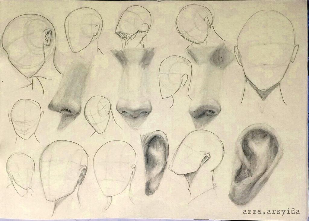 Random Sketch by arsyiza