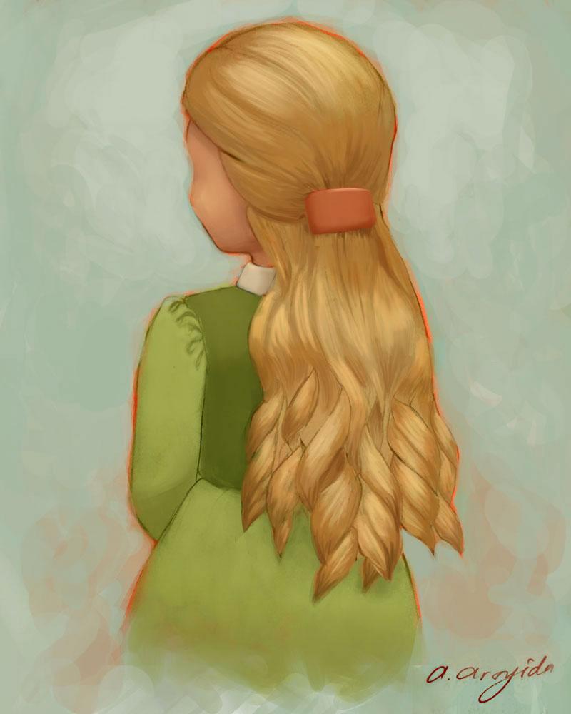 Blonde Ringlets by arsyiza