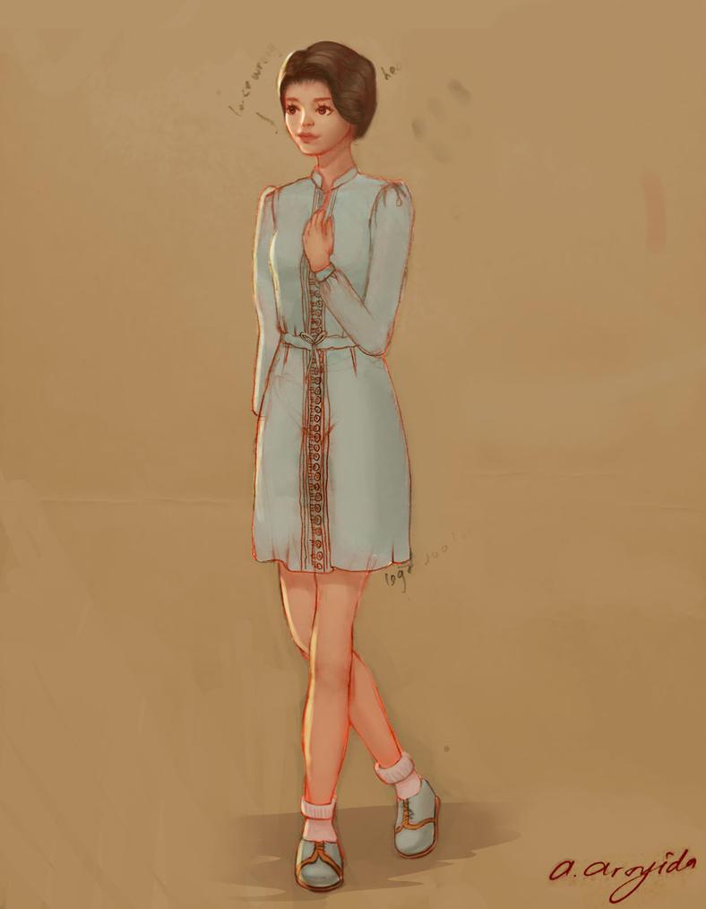 Girl by arsyiza