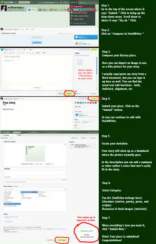 How to Upload a Story to DA using Sta.shWriter