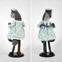 Big Bad Wolf in Grandma's Nightgown