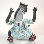 Posable Art Doll - Creepy Wolf