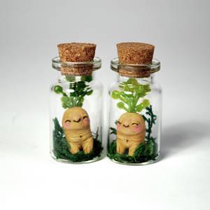 Hello World! OOAK Mandrake Roots
