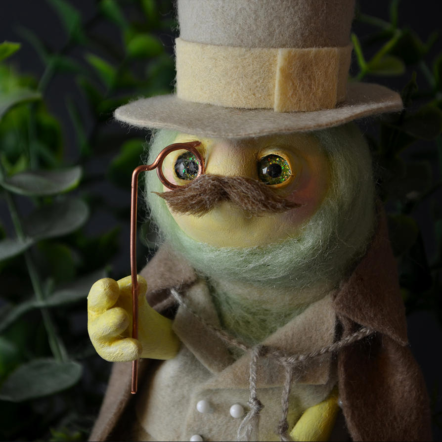 Sir Caterpillar! OOAK doll by falauke