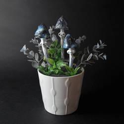 Galaxy Shrooms Miniature OOAK