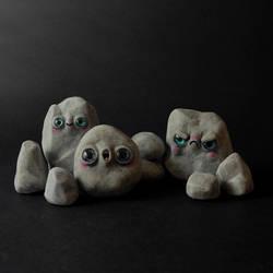 Pet Rock Figurines
