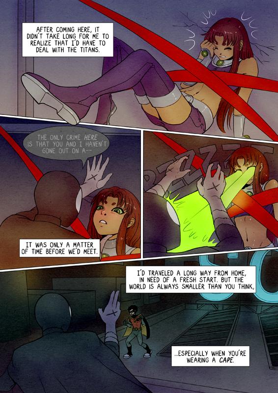 Teen Titans: X - Prologue 2