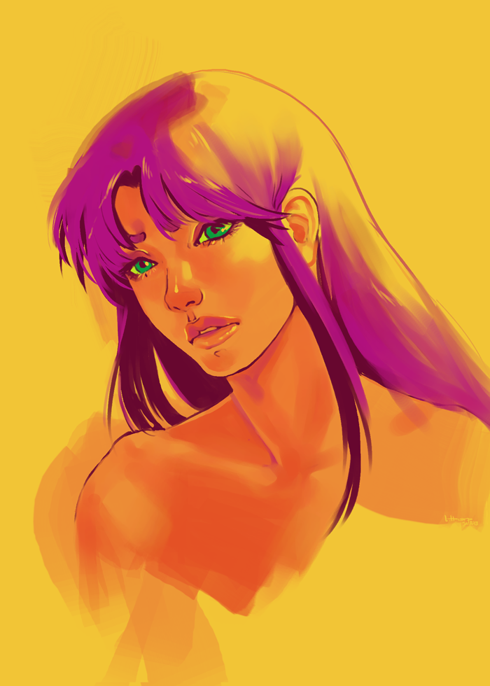 Painterly Starfire by pinku