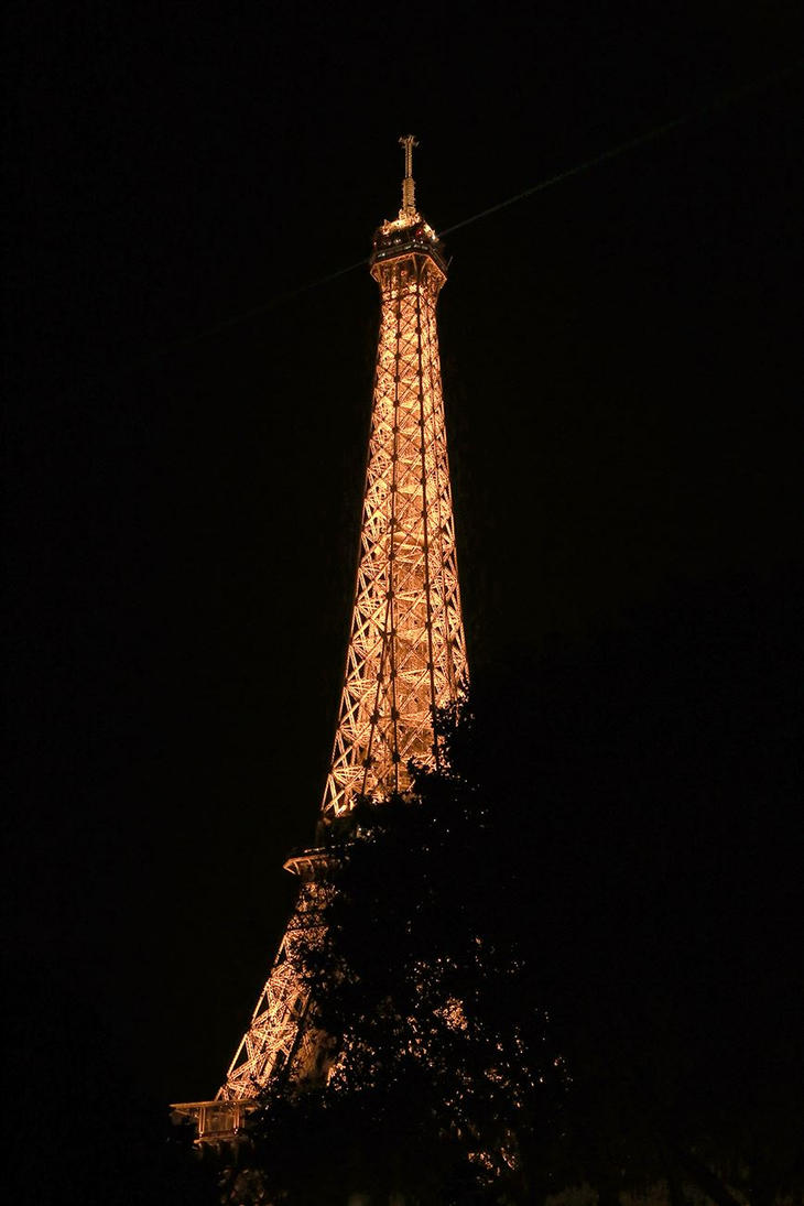 Eiffel Tower. by Sparvoga