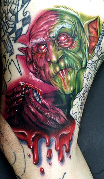 Los mejores tattoos a todo color Nosferatu_by_tat2istcecil
